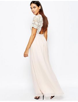 club-l-maxi-dress-with-scallop-crochet-and-open-back by club-l