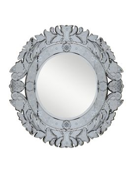 selections-by-chaumont-sandringham-46-inch-antique-white-decorative-mirror by generic