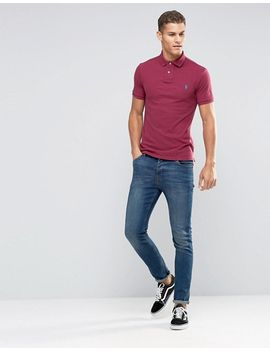 polo-ralph-lauren-slim-fit-polo-shirt-with-logo-in-pink by polo-ralph-lauren