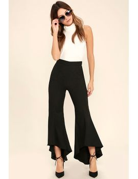see-the-world-black-pants by lulus