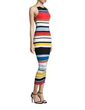 jenner-sleeveless-striped-dress by alice-+-olivia