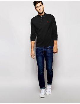 polo-ralph-lauren-long-sleeve-polo-shirt-in-custom-regular-fit by polo-ralph-lauren