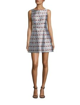 lindsey-structured-pouf-dress by alice-+-olivia