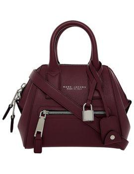 burgundy-mini-leather-grab-bag by marc-jacobs