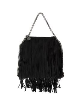 black-fringed-falabella-tote-bag by stella-mccartney