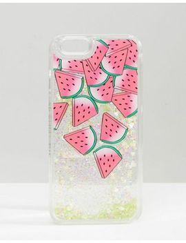 skinnydip-watermelon-liquid-glitter-iphone-6_6s-case by skinnydip