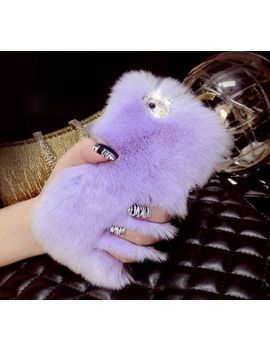 luxury-warm-fluffy-winter-hair-soft-back-case-cover-for-apple-iphone-5-6-6s-plus by ebay-seller
