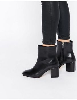 lost-ink-dusty-black-heeled-ankle-boots by lost-ink