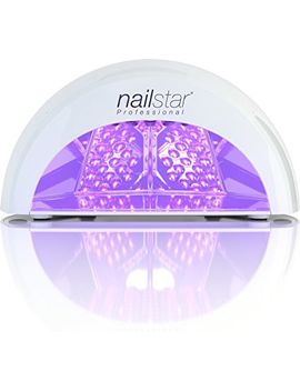 nailstar®-professional-led-nail-dryer-nail-lamp-for-gel-polish-with-30sec,-60sec,-90sec-and-30min-timers by amazon
