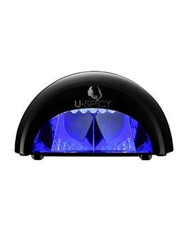 led-nail-lamp,-uspicy-gelish-led-lamp-nail-light-_-polish-dryer-(black-12w)-handy-nail-dryer-portable-manicure by amazon