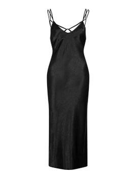 two-strap-satin-midi-dress by topshop