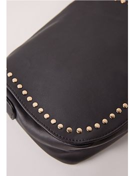 studded-saddle-bag by missguided