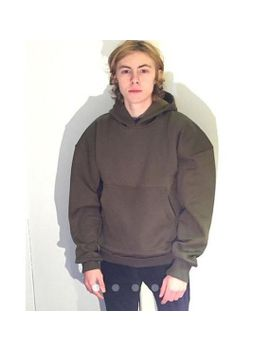 olive-oversized-hoodie by slaveeclothing