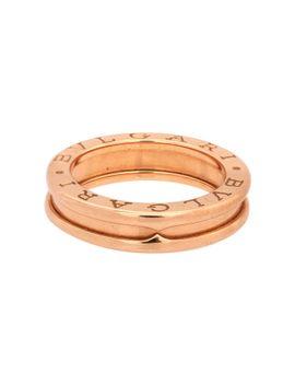 pre-owned-18-karat-pink-gold-band-ring by bvlgari