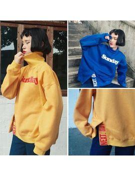 print-turtleneck-sweatshirt by glen-glam