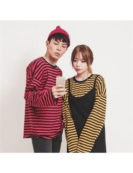 couple-striped-t-shirt by superstari