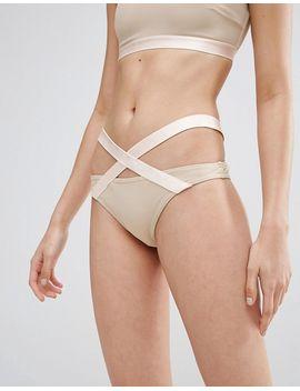 asos-elastic-trim-bikini-set by asos