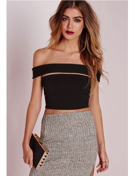 cut-out-bandeau-crop-top-black-16 by missguided
