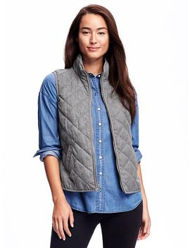 textured-quilted-vest-for-women by old-navy
