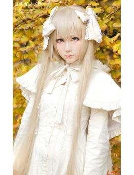 light-blonde-long-straight--yosuganosora-kasugano-sora-cosplay-anime-wig by ali-express