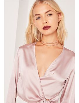 cut-out-metal-choker-necklace-gold by missguided