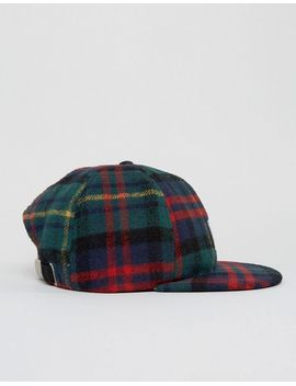 asos-vintage-baseball-cap-in-flannel-check by asos