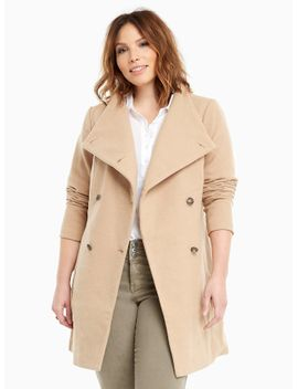 funnel-neck-coat by torrid