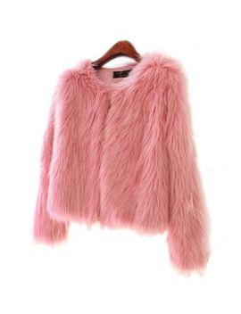girl-faux-fur-coat-with-cotton-padded-pink-fur-outerwear-lady-winter-long-sleeve-fur-jacket-furry-fur-top by ali-express