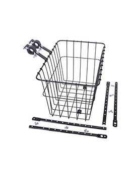 wald-198-front-bicycle-basket-(145-x-95-x-9,-black) by wald