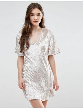 madam-rage-velvet-t-shirt-dress by casual-dress