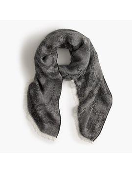 jacquard-oversized-scarf by jcrew