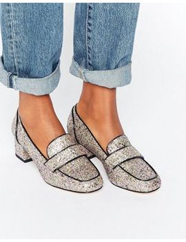 asos-sprint-heeled-loafers by asos-collection