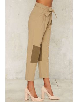 patch-and-go-cropped-pants by nasty-gal