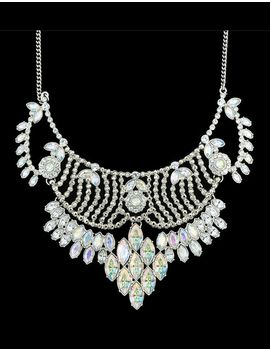 rhinestone-chunky-statement-necklace by sheinside