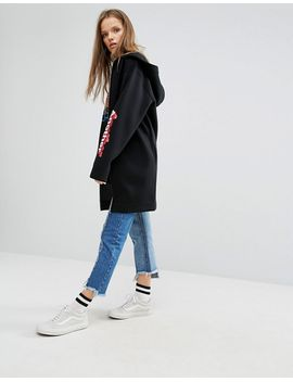 stylenanda-extreme-oversized-zip-front-hoodie-with-arm-script by hoodie