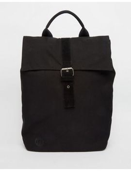 mi-pac-canvas-fold-top-backpack-in-black by mi-pac