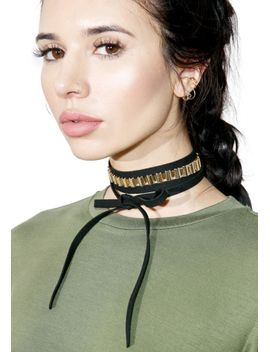 telltale-wrap-choker by fashion-accents