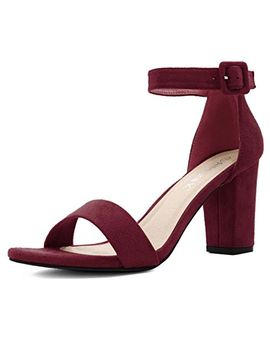 allegra-k-womens-chunky-heel-ankle-strap-sandals by allegra-k