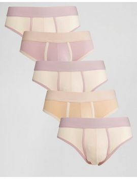 asos-u-bound-briefs-in-pink-5-pack by asos