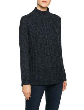 the-wonderer-mock-neck-sweater by sanctuary