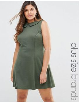 club-l-dress-with-collar by club-l