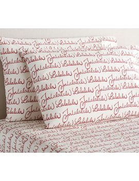 fa-la-la-sheet-set by pottery-barn