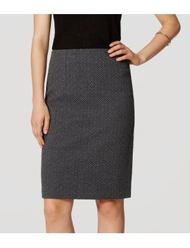 petite-diamond-pull-on-pencil-skirt by loft