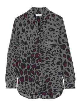reese-leopard-print-washed-silk-shirt by equipment