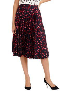 olympia-cherry-print-skirt by jcrew