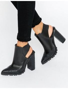 asos-erwin-elastic-pointed-ankle-boots by asos-collection