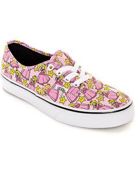 vans-x-nintendo-authentic-princess-peach-shoes by vans