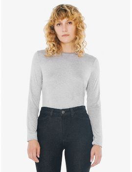 compact-jersey-mid-length-long-sleeve-top by american-apparel