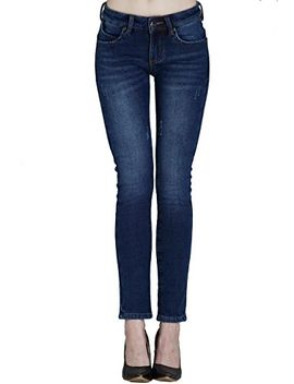 camii-mia-womens-winter-slim-fit-fleece-jeans by camii-mia