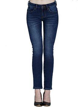 camii-mia-womens-winter-slim-fit-fleece-jeans by camii-mia
